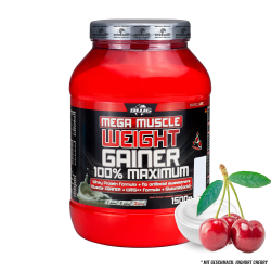 BWG Mega Muscle Weight Gainer (1500g) JOGHURT-CHERRY