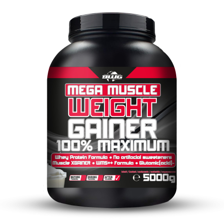 BWG Mega Muscle Weight Gainer (5000g) JOGHURT-CHERRY