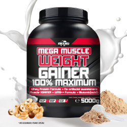BWG Mega Muscle Weight Gainer (5000g) PEANUT-SPEZIAL