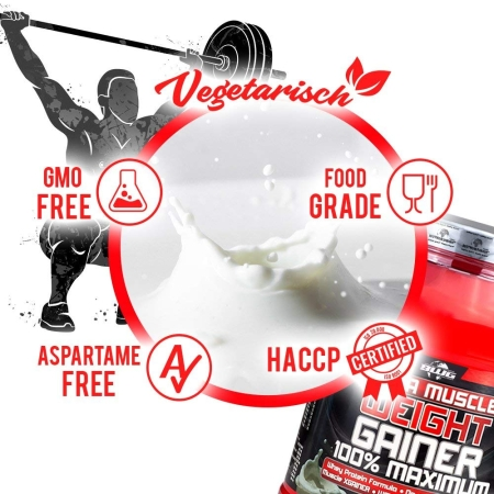 BWG Mega Muscle Weight Gainer - Schokolade (1500g)