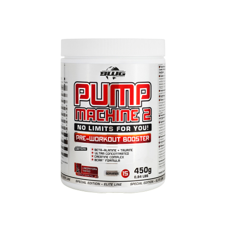 BWG Pump Machine 2 Pre Workout Booster ohne Koffein (Berry Mix) (450g)