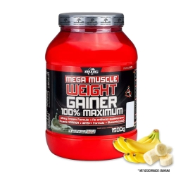 BWG Mega Muscle Weight Gainer - Banane (1500g)