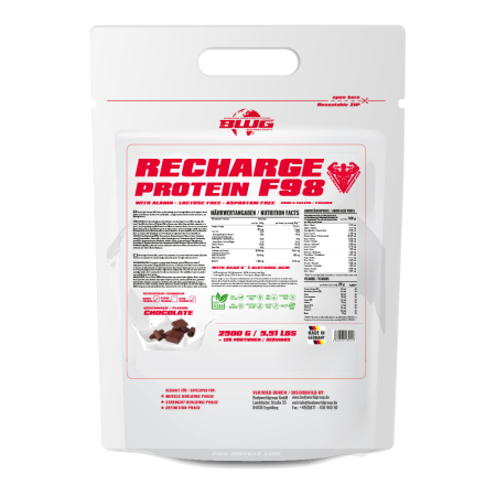 BWG/ MUSCLE LINE / Recharge  Protein / 2500g BEUTEL / Triple Chocolate